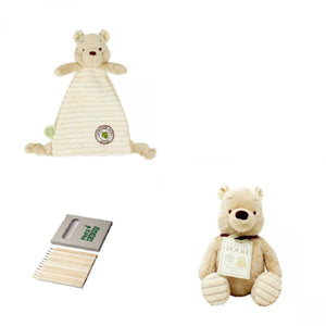 Pooh bear soft toy and comforter