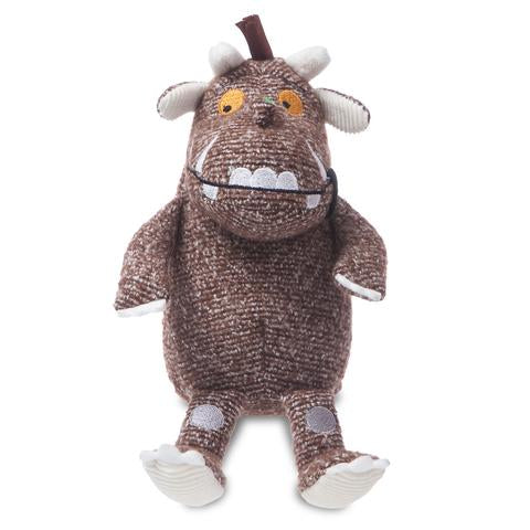 Image of Gruffalo Baby Soft Toy | Gruffalo Teddy and Ring Rattle set