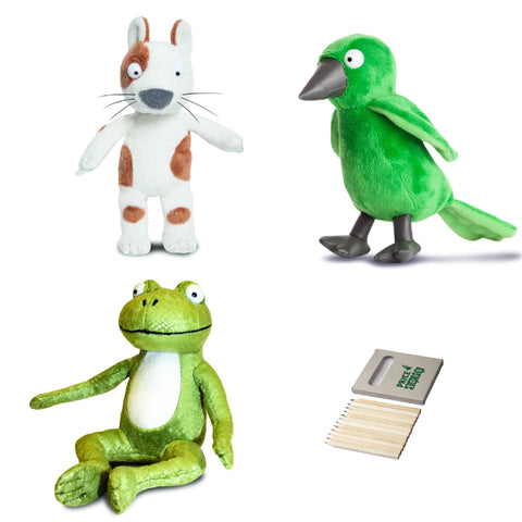 Image of Room on the Broom Dog, Frog and Bird Set