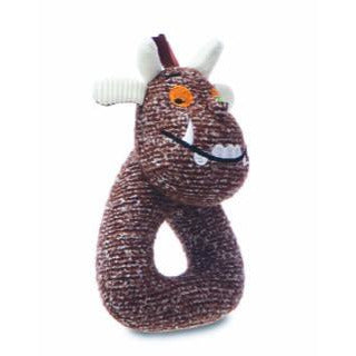 Gruffalo Baby Soft Toy | Gruffalo Teddy and Ring Rattle set