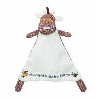 Image of The Gruffalo - Baby Soft Toy Teddy and Comforter