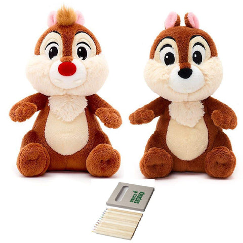 Price Toys Chip and Dale Disney Soft Toy Set – Mini bean Rescue Rangers teddy