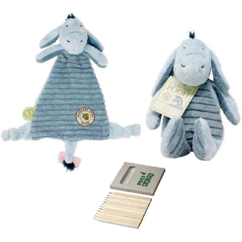 Eeyore Soft Toy Hundred Acre Wood Collection (Eeyore Teddy/Comforter)