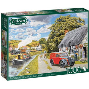 1000 Piece Adult Jigsaw Puzzle | Parcel for Canal Cottage | Falcon de Luxe