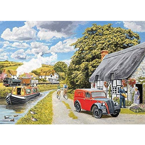 Image of 1000 Piece Adult Jigsaw Puzzle | Parcel for Canal Cottage | Falcon de Luxe