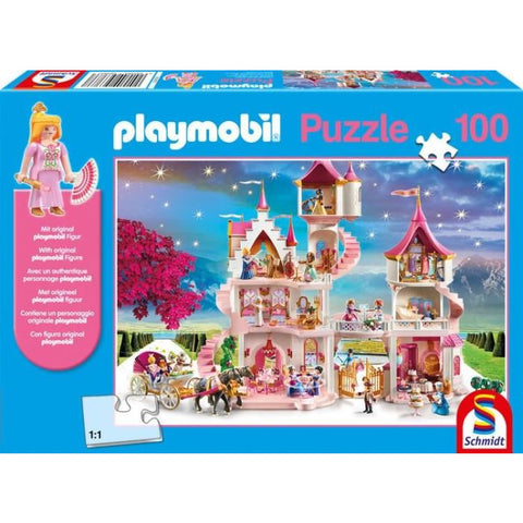 Image of Playmobil | Princess Castle 100 piece Jigsaw | Includes Figure