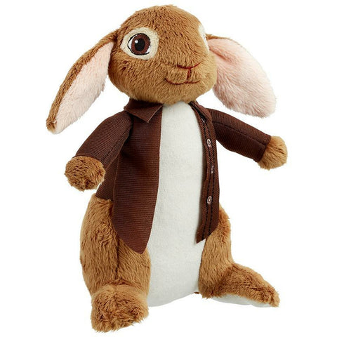 Image of Benjamin Bunny Soft Toy-Peter Rabbit Movie