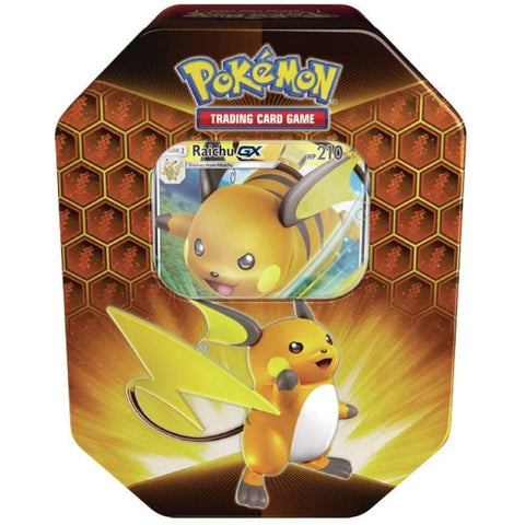 Pokémon Hidden Fates Tin -  Raichu GX Tin