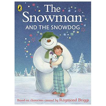 Image of snowman and snowdog book