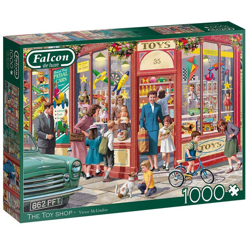 Image of 1000 Piece Jigsaw Puzzle | The Toy Shop |  Falcon de luxe