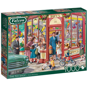 1000 Piece Jigsaw Puzzle | The Toy Shop |  Falcon de luxe
