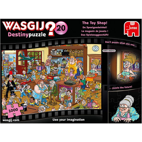 Image of 1000 Piece Jigsaw Puzzle | The Toy Shop | Wasgij Destiny 20