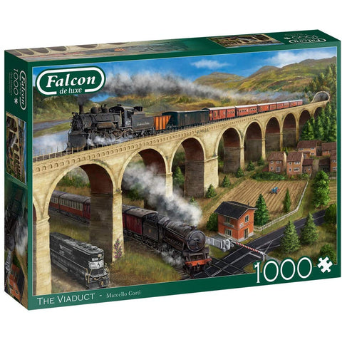 1000 Piece Adult Jigsaw Puzzle |  The Viaduct | Falcon de luxe