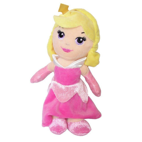 Disney Princess Soft Toy | 20 cm Aurora Mini Bean