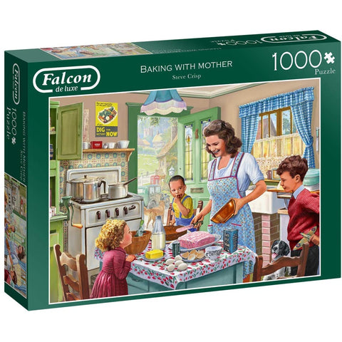 1000 Piece | Baking with Mother | Falcon de Luxe | Jigsaw Puzzle
