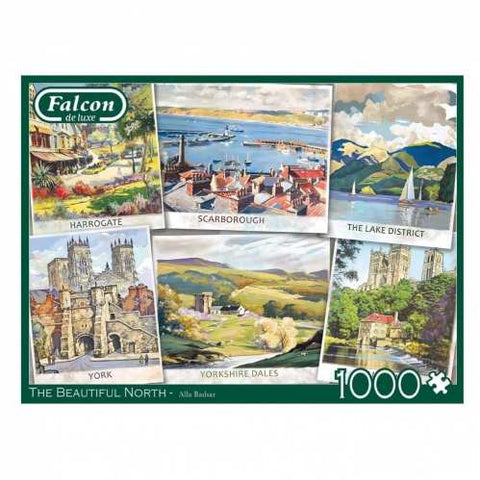 The Beautiful North | 1000 Piece Jigsaw | Falcon de Luxe