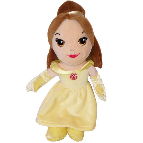 Disney Princess Soft Toy | 20 cm Belle Mini Bean