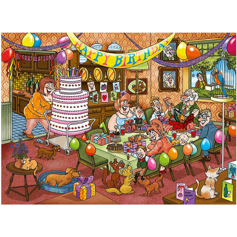 Mystery 16-Birthday Surprise 1000 Piece  Adult Jigsaw