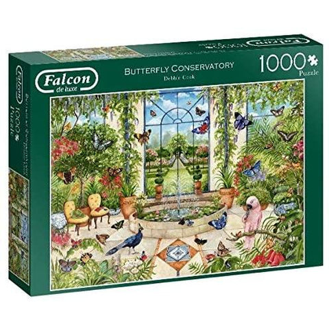 Butterfly Conservatory | 1000 Piece Jigsaw Puzzle | Falcon de Luxe