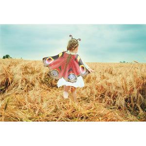 Price Toys Butterfly Wings with Antennae Headband | Fancy Dress for Girls and Boys