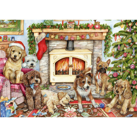 500 Piece | Christmas Puppies | Jigsaw Puzzle