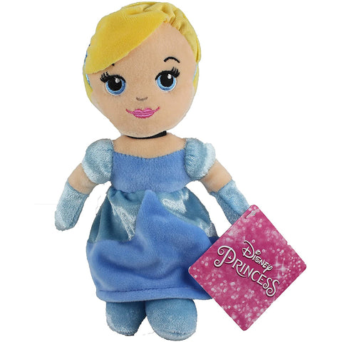 Disney Princess Soft Toy | 20 cm Cinderella Mini Bean