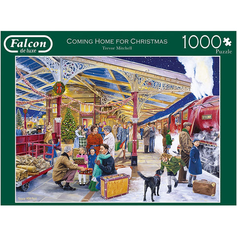1000 Piece | Coming Home for Christmas | Jigsaw Puzzle | Falcon