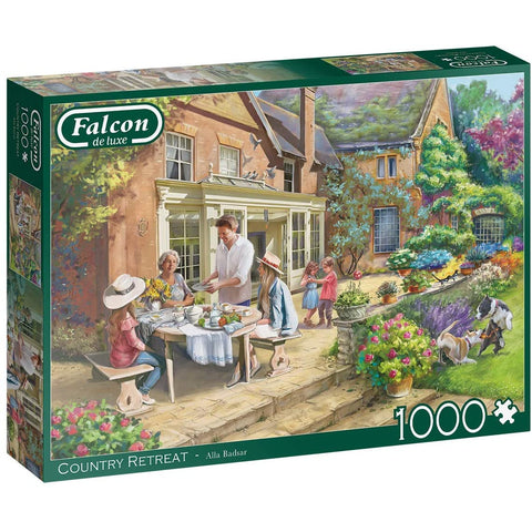 Falcon de Luxe Country House Retreat 1000 piece Adult Jigsaw