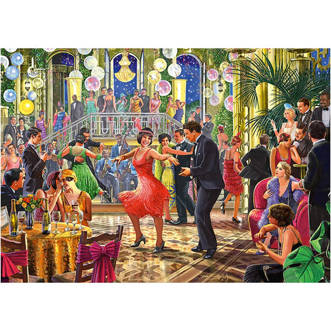 Dancing the Night Away | 500 Piece Jigsaw | Falcon de Luxe