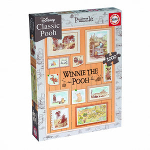 1000 Piece Jigsaw Puzzle | Winnie the Pooh Photoframe | Educa Borras 18256