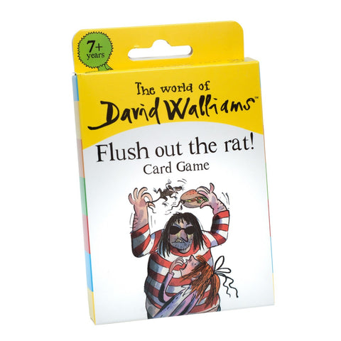 Image of The World of David Walliams - Flush Out the Rat Card Game