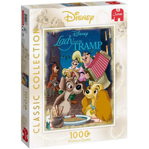 Image of Disney | Lady & The Tramp | 1000 Piece Jigsaw Puzzle