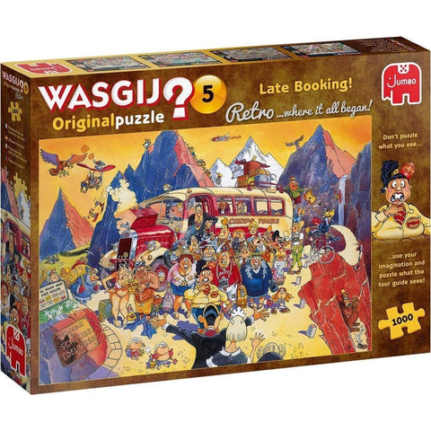 Image of Wasgij | Retro 5 Late Booking! | 1000 Piece Jigsaw