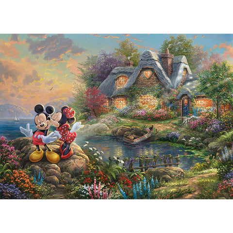 1000 Piece | Disney Mickey Mouse Jigsaw Puzzle |  Schmidt