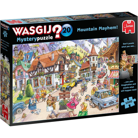 Image of Wasgij | Mystery 20 Mountain Mayhem! | 1000 Piece Jigsaw