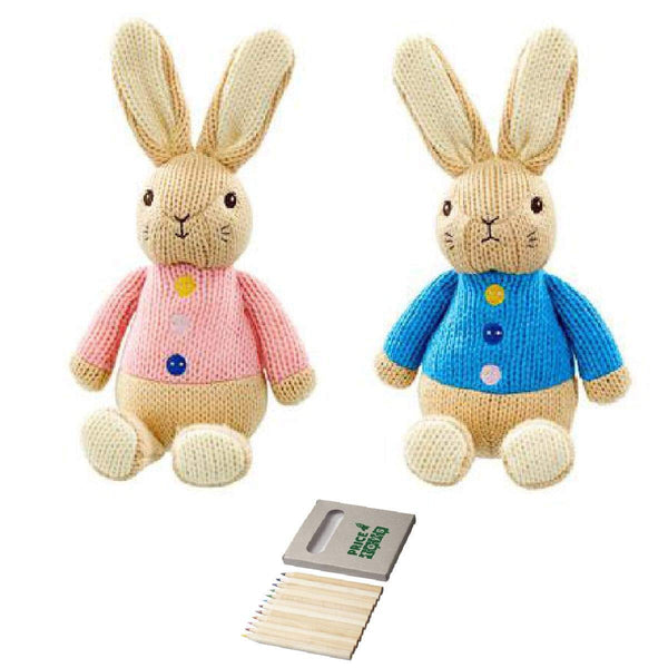 My first Peter Rabbit and Flopsy Soft toy set