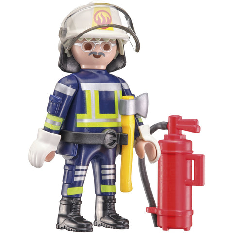 Playmobil | Fire Engine 40 Piece Jigsaw |  Play Figure Included