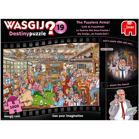 1000 Piece Adult Jigsaw Puzzle | Wasgij Destiny 19 The Puzzlers Arms