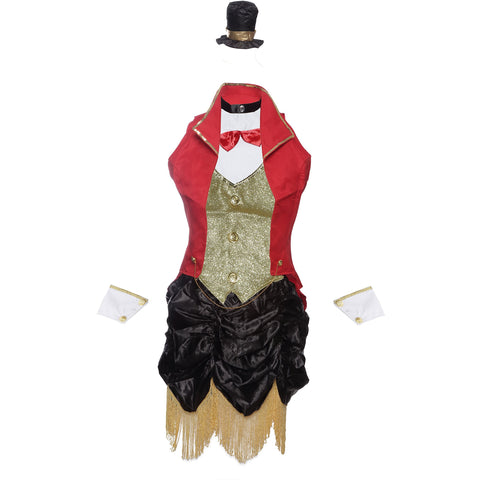 Ringmaster Circus Fancy Dress Costume UK 8-14