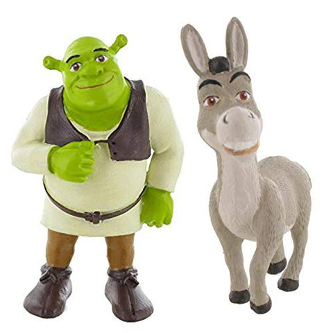 Shrek mini figure toys - Shrek and Donkey