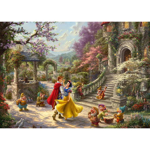 1000 Piece | Disney Snow White Dancing with the Prince Jigsaw Puzzle | Schmidt
