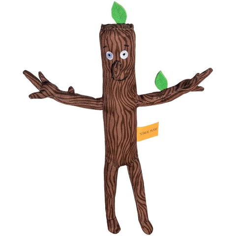 "Stick Man Soft Toy 13"" from the book by Julia Donaldson and Alex Schleffler"