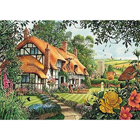 Image of A Beautiful Summer's Day | 2 x 1000 Piece Jigsaw Puzzles | Falcon de Luxe