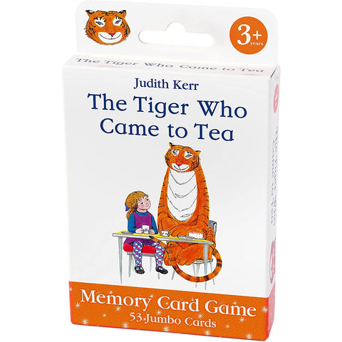 Tiger that came for Tea Memory Card Game