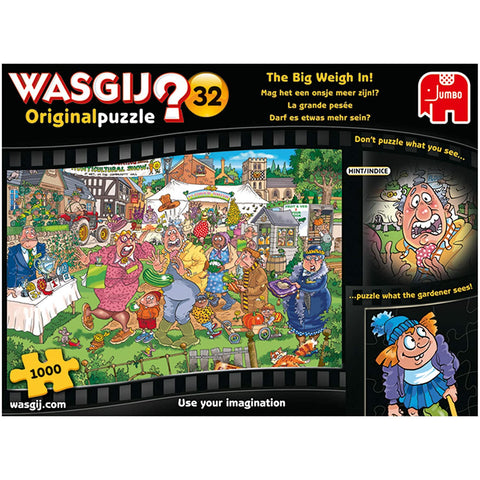 1000 Piece Jigsaw Puzzle | The Big Weigh In | Wasgij Original 32