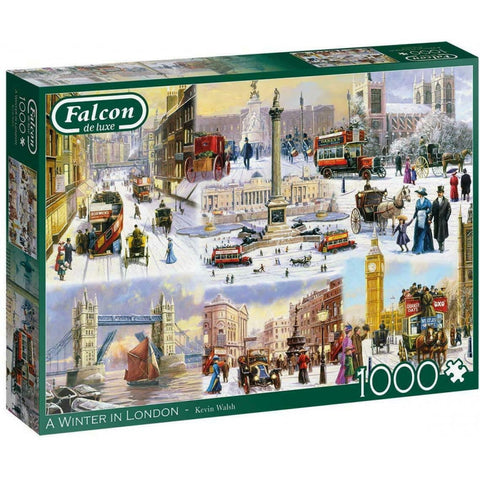 1000 Piece | A Winter In London | Jigsaw Puzzle | Falcon