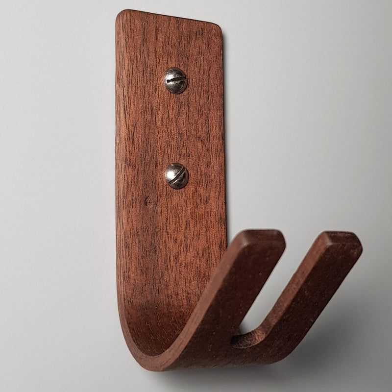 Monaco K | Set of 4 Wall Hooks - Walnut - NOIR.DESIGN