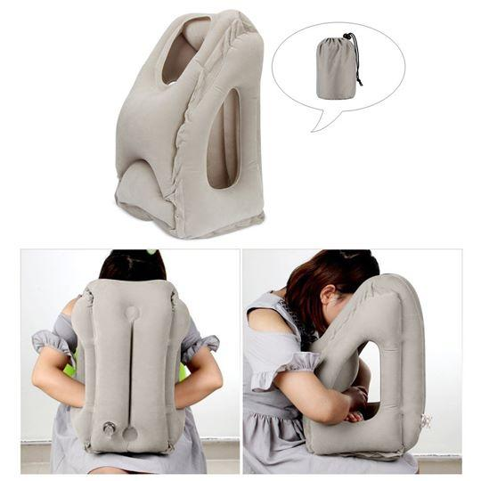 Inflatable Travel Pillow - Supportive & Comfortable‎