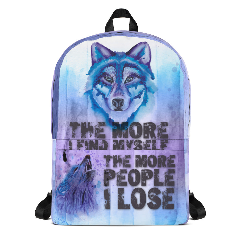 Backpack Wolf - The More I find My self, The More People i Lose