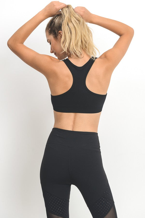 Seamless Racerback Athletic Bra